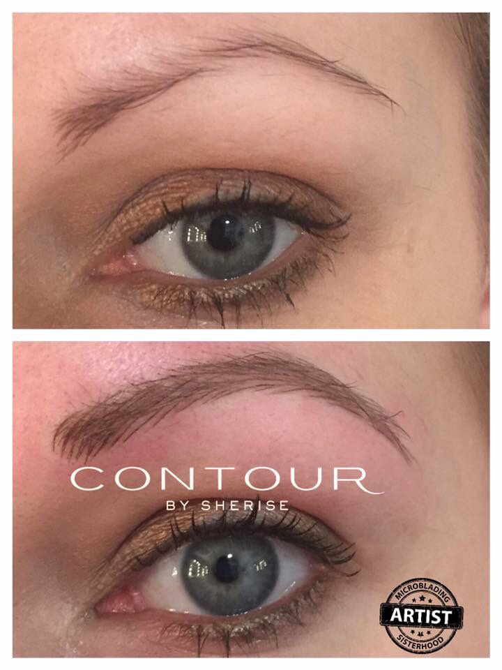 Eyebrow Tattoo Vs Eyebrow Embroidery Contour By Sherise